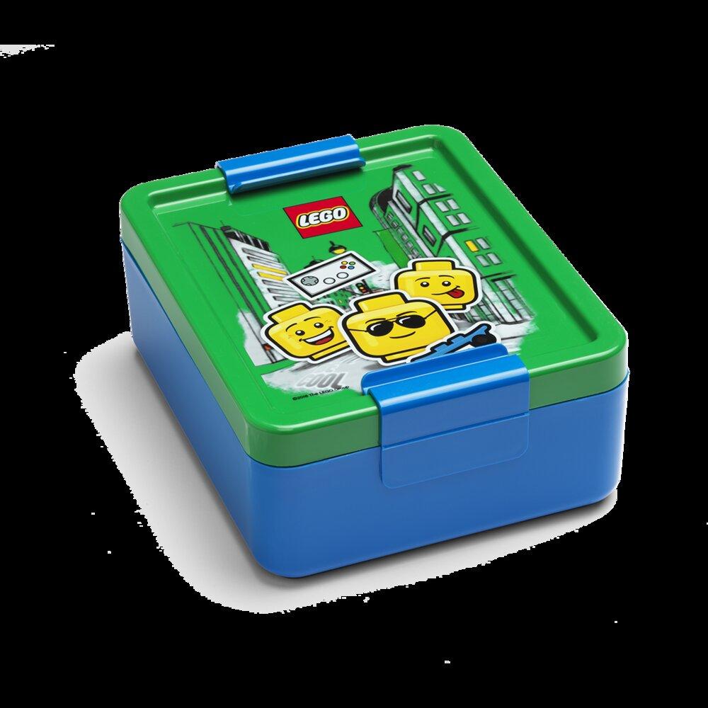 Boy Emoticon Lunch Box