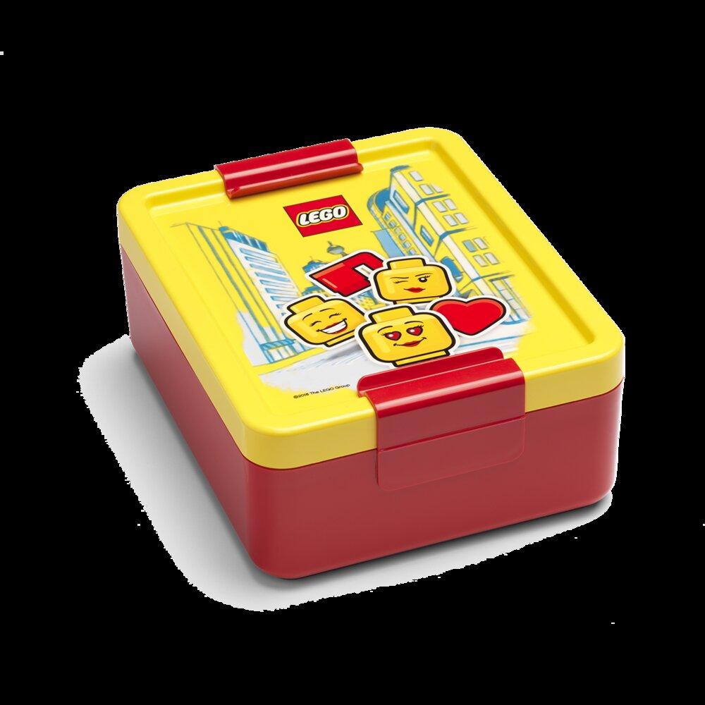 Girl Emoticon Lunch Box