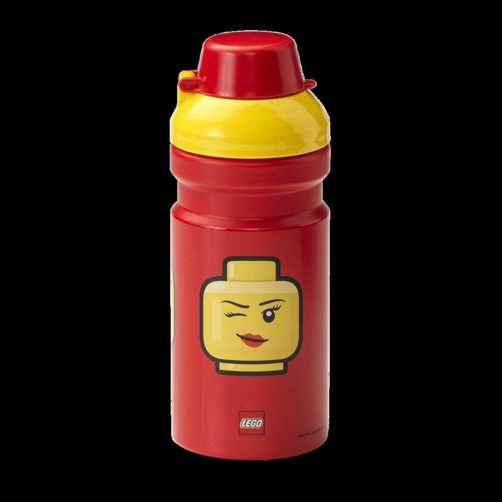 Minifigure Head Drinking Bottle (Winking)