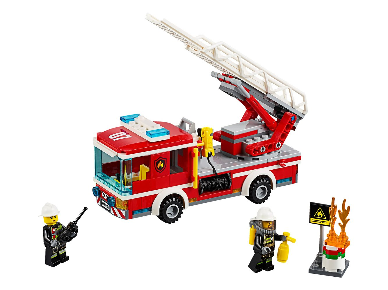 Fire Ladder Truck