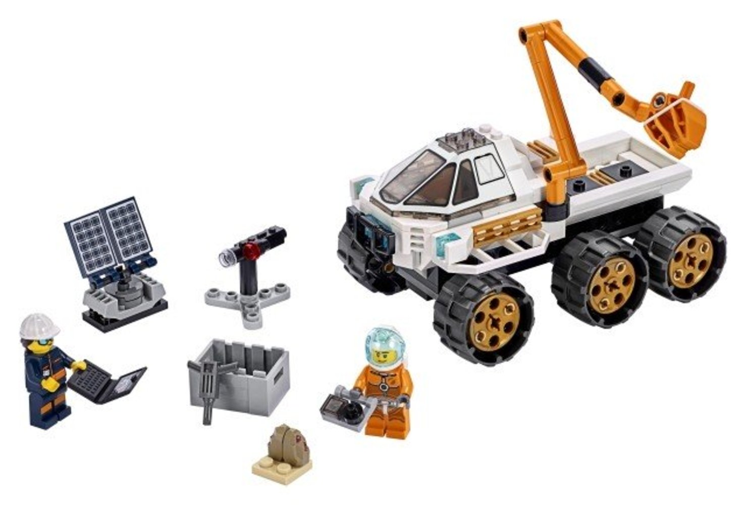Rover Testing Drive