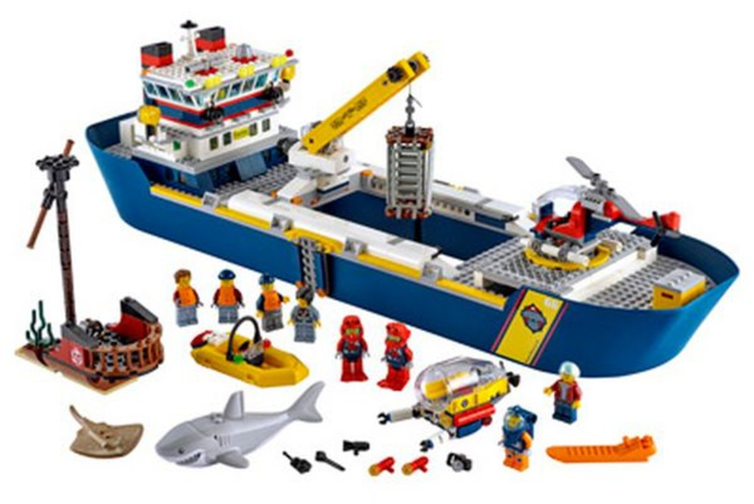 Ocean Exploration Ship
