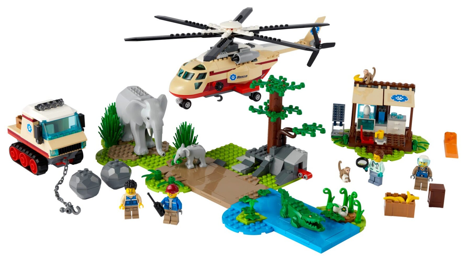 Wildlife Rescue Operation