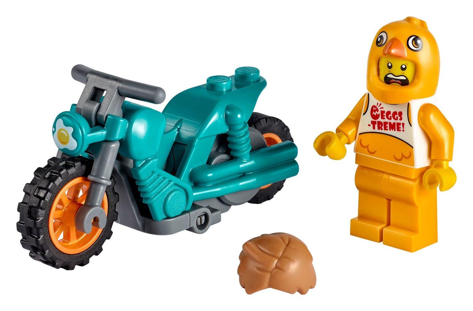 Chicken Stunt Bike