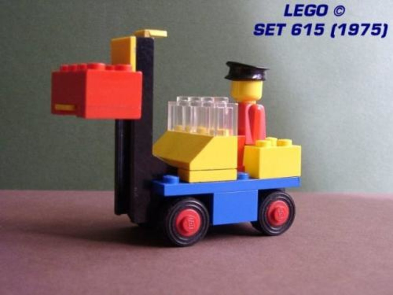 Fork Lift with Driver