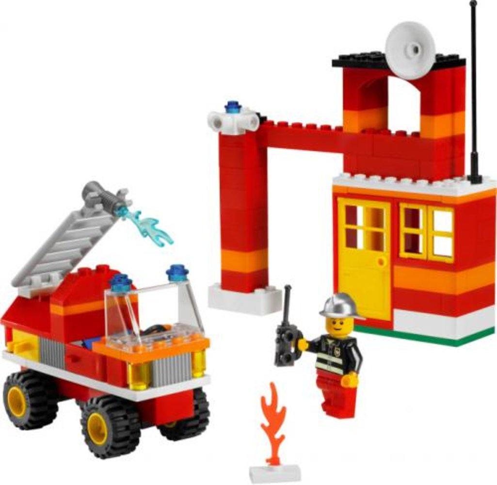 Fire Fighter Building Set