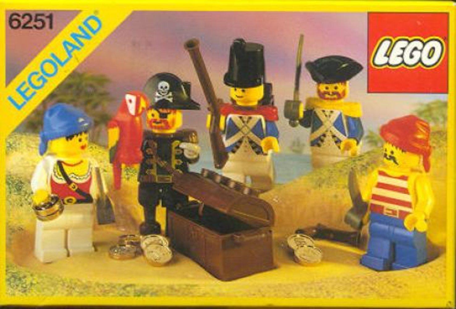 Pirate Mini Figures