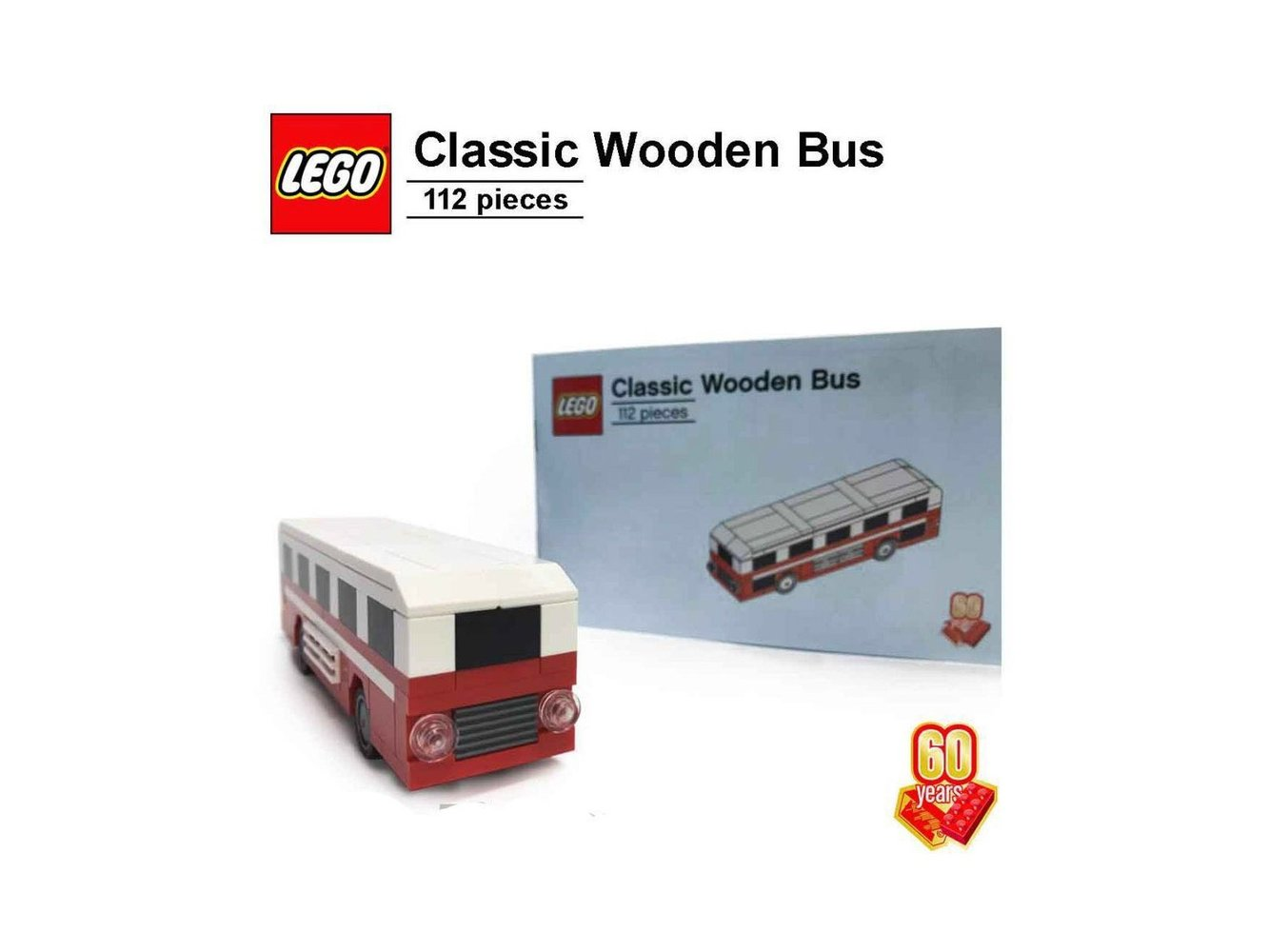 60th Anniversary Classic Wooden Bus