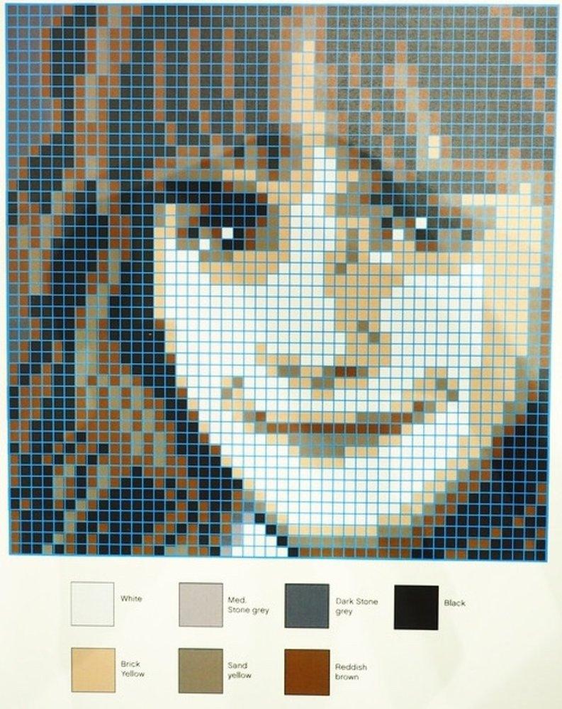 Hermione Granger Mosaic
