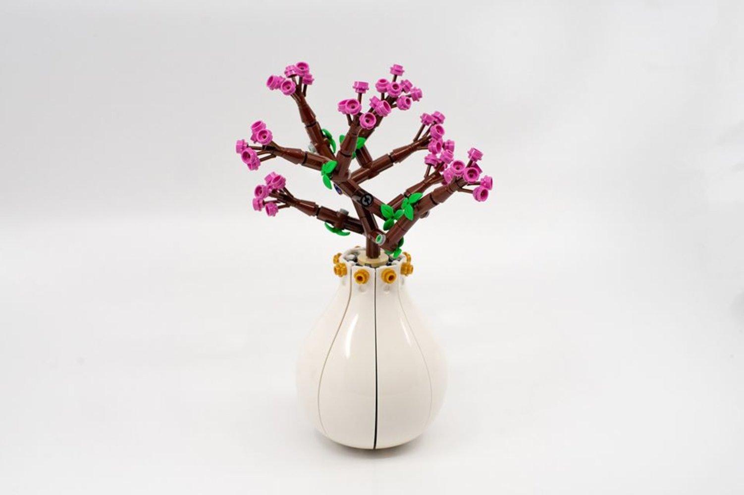 Peach Flower Vase