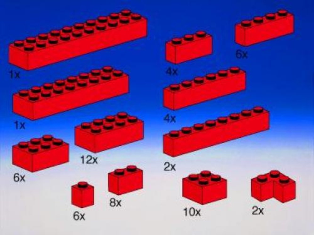 Extra Bricks in Red