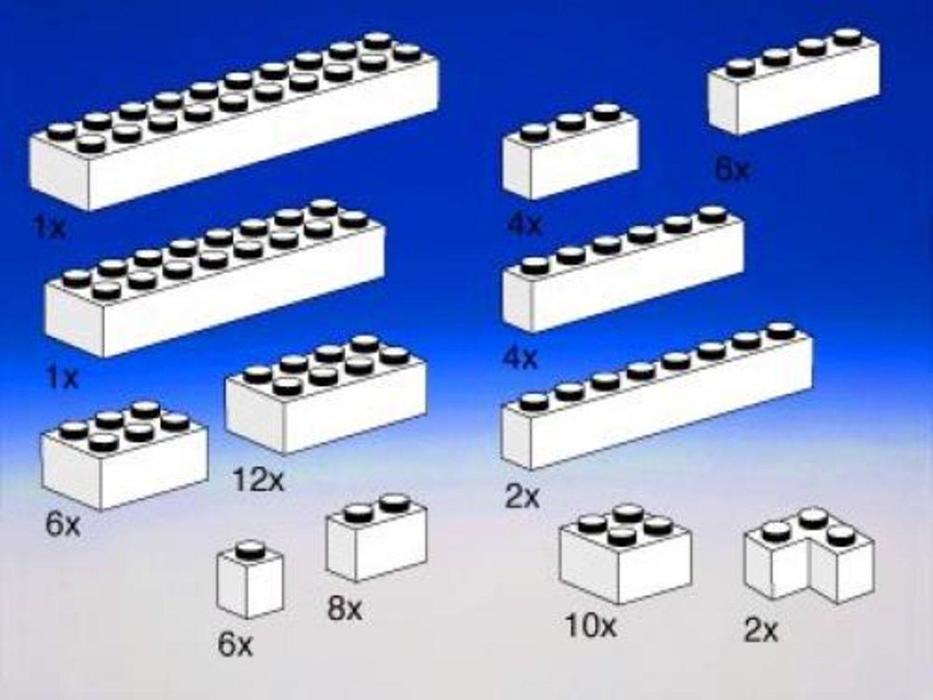 Extra Bricks in White