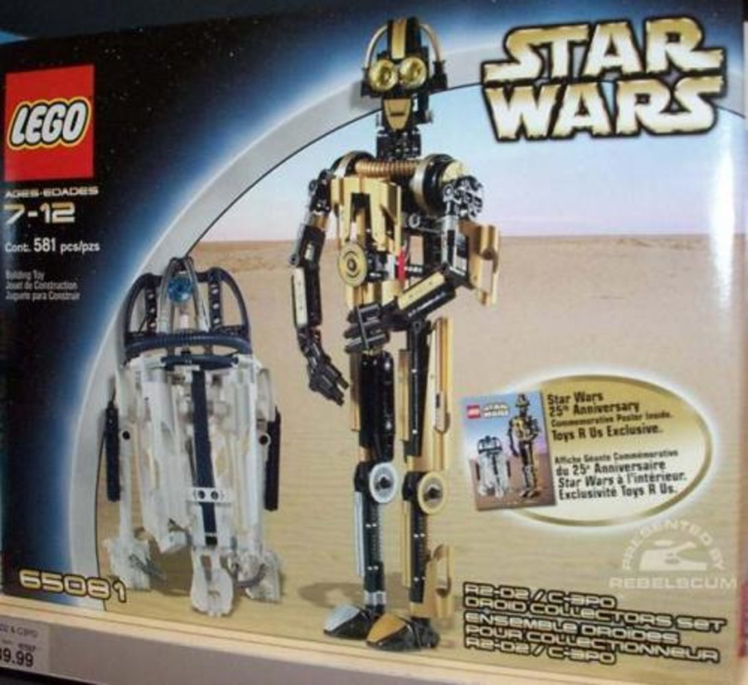 R2-D2 8009 / C-3PO 8007 Droid Collectors Set