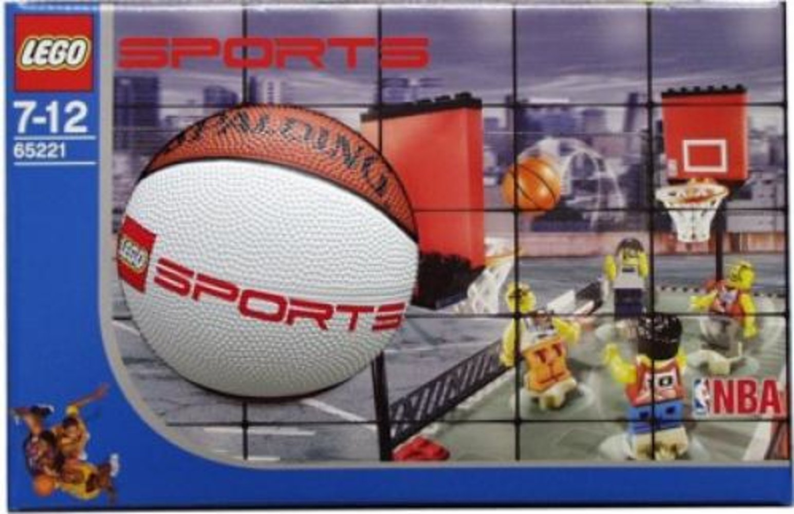 Streetball 2 vs 2 (box with mini basketball)