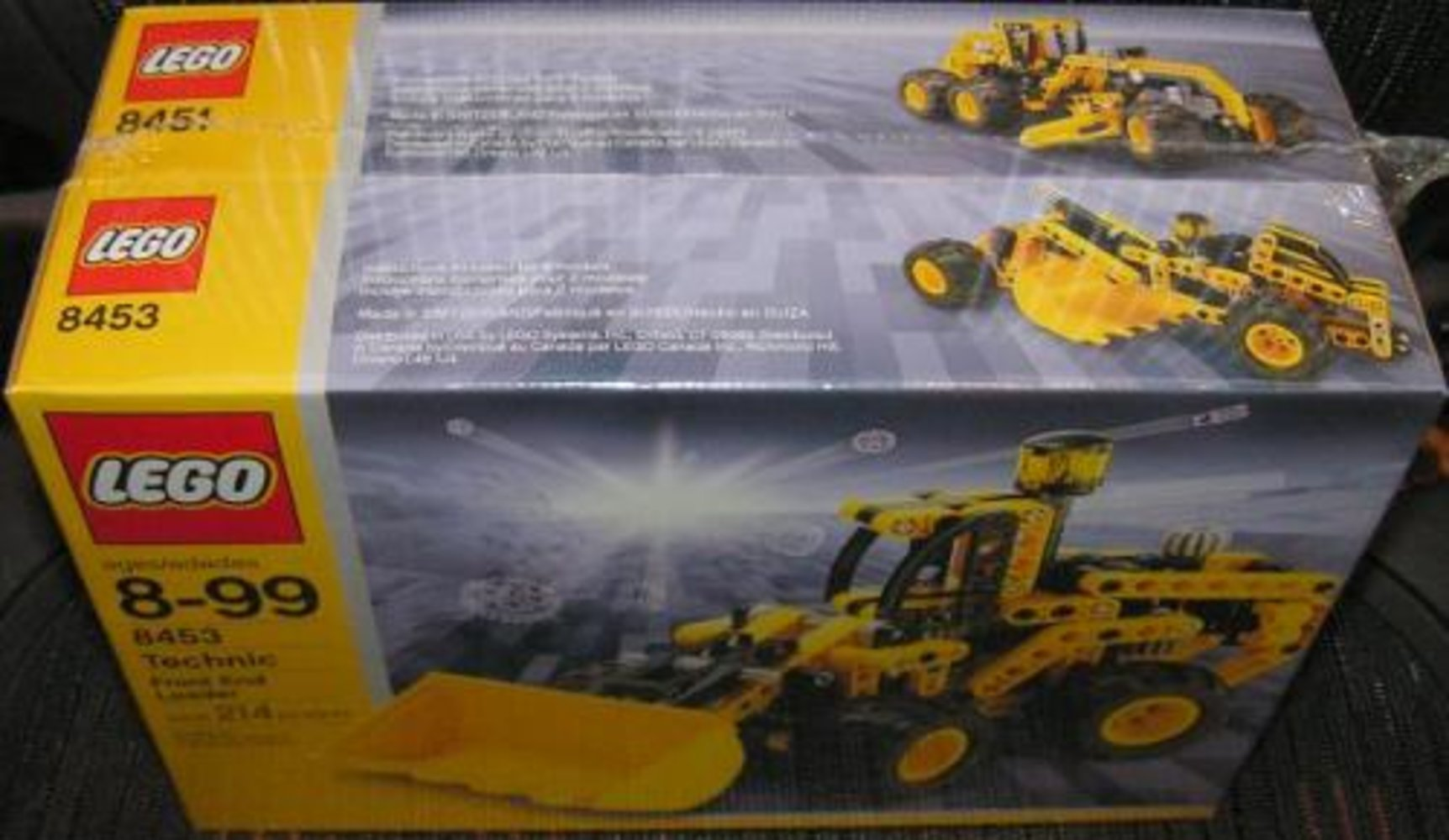 Dumper and Front End Loader Co-Pack (contains 8451 and 8453)