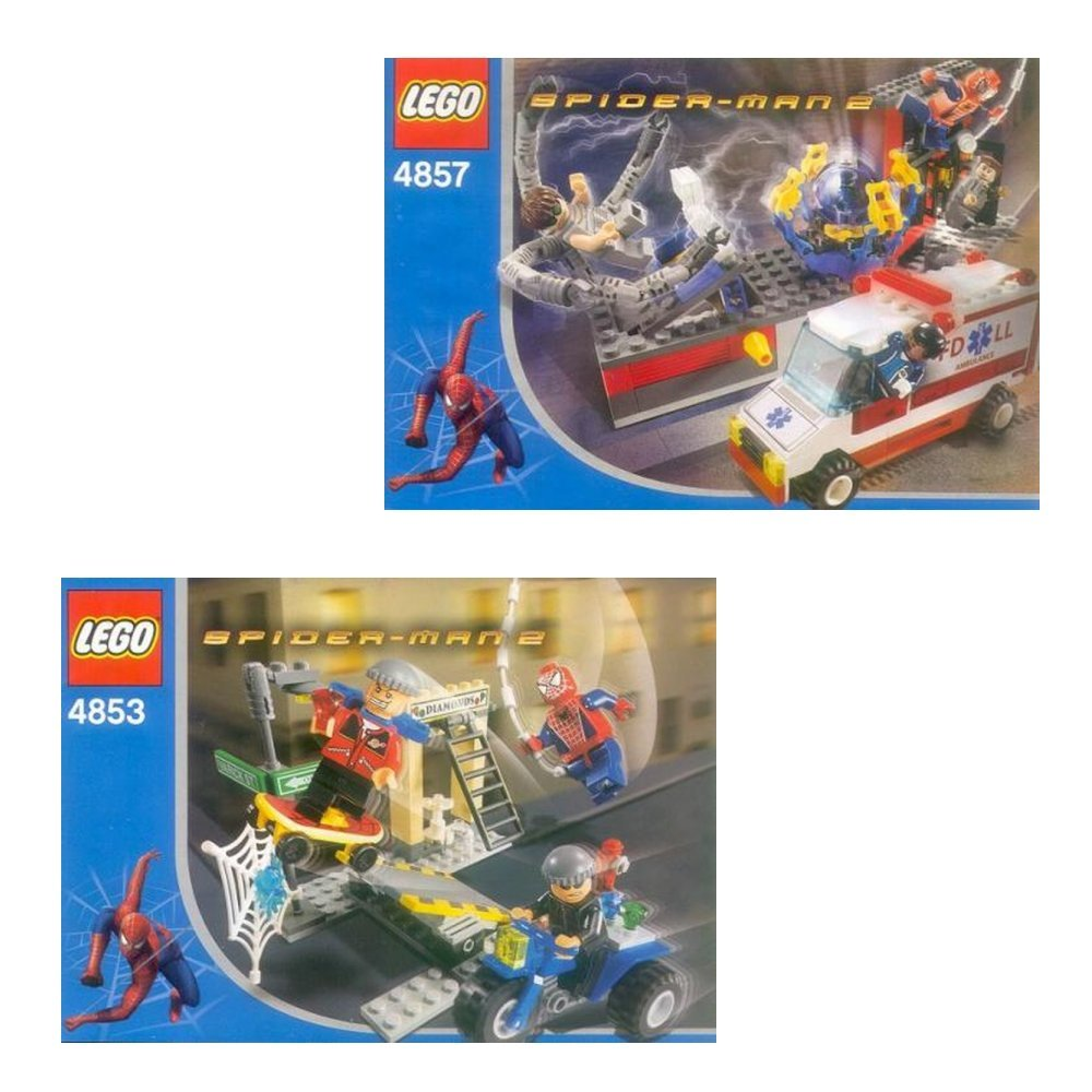 Spider-Man Co-Pack 1 (4853, 4857)