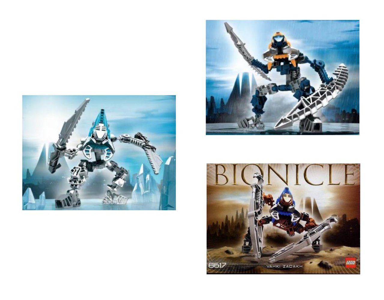 Bionicle Bonus Pack (8615 8617 8619 plus three Bionicle Comic books)