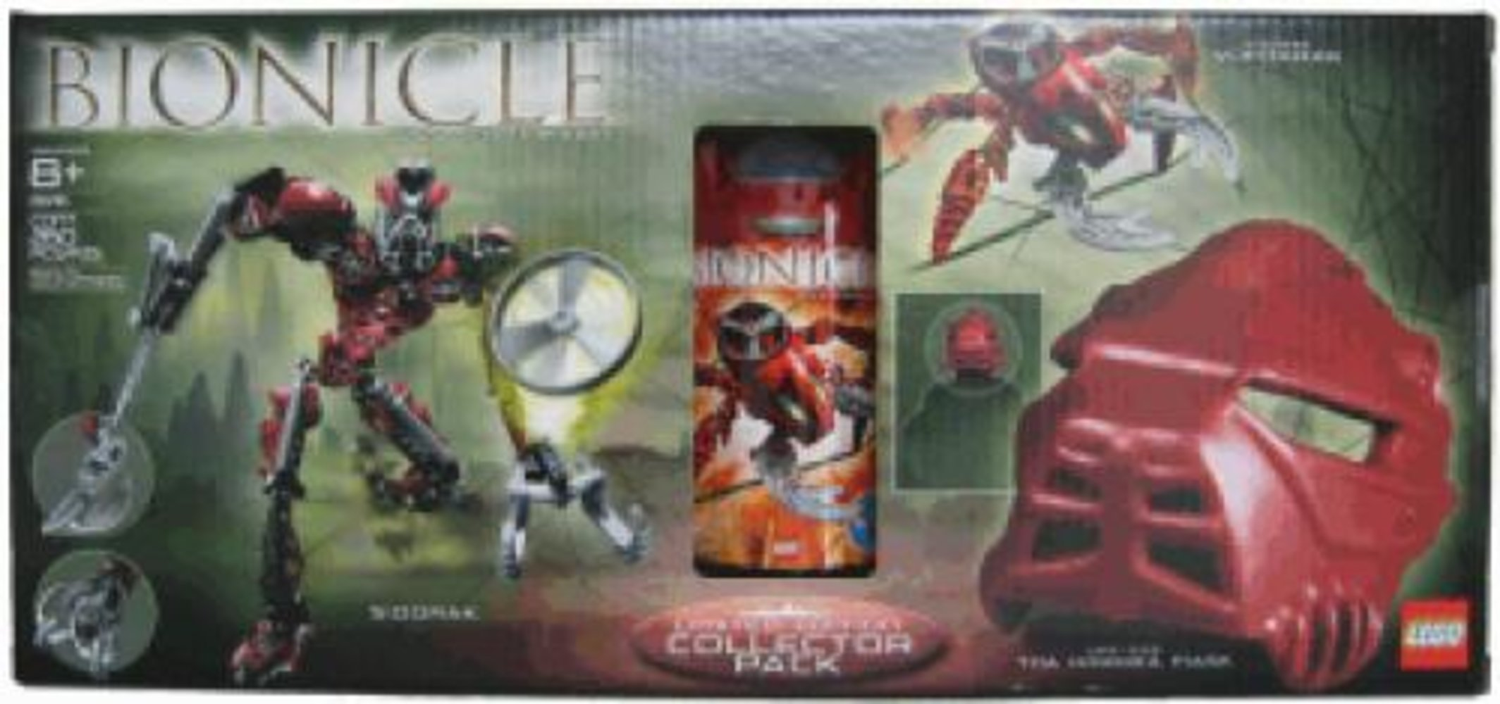 Limited Edition Collector Pack with Vohtarak Sidorak and Life-Size Toa Hordika Mask (8742 8756)