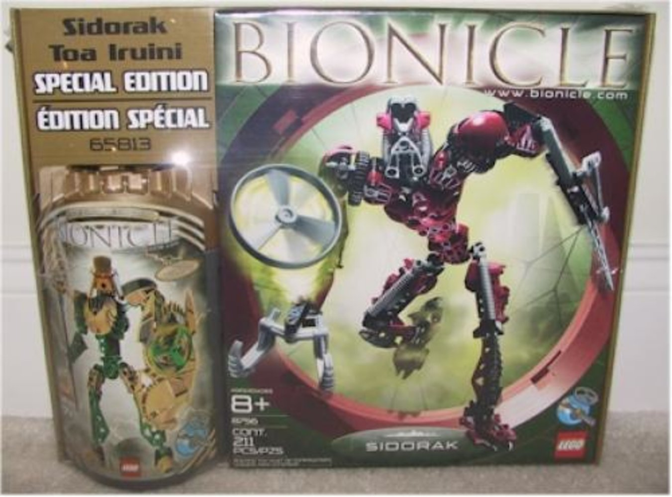 Special Edition Co-Pack with Sidorak and Toa Iruini (8756 8762)