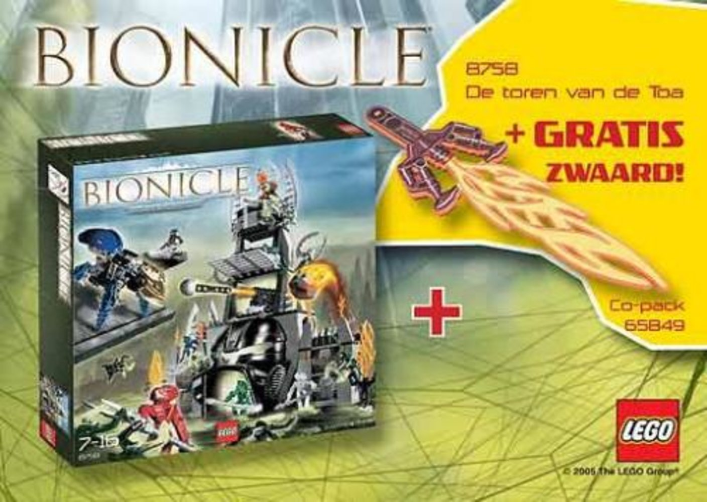 Bionicle Co-Pack (contains 8758 and 851097)