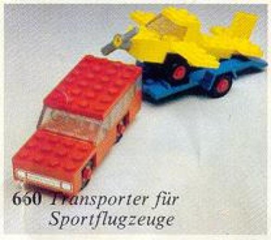 Car with Plane Transporter