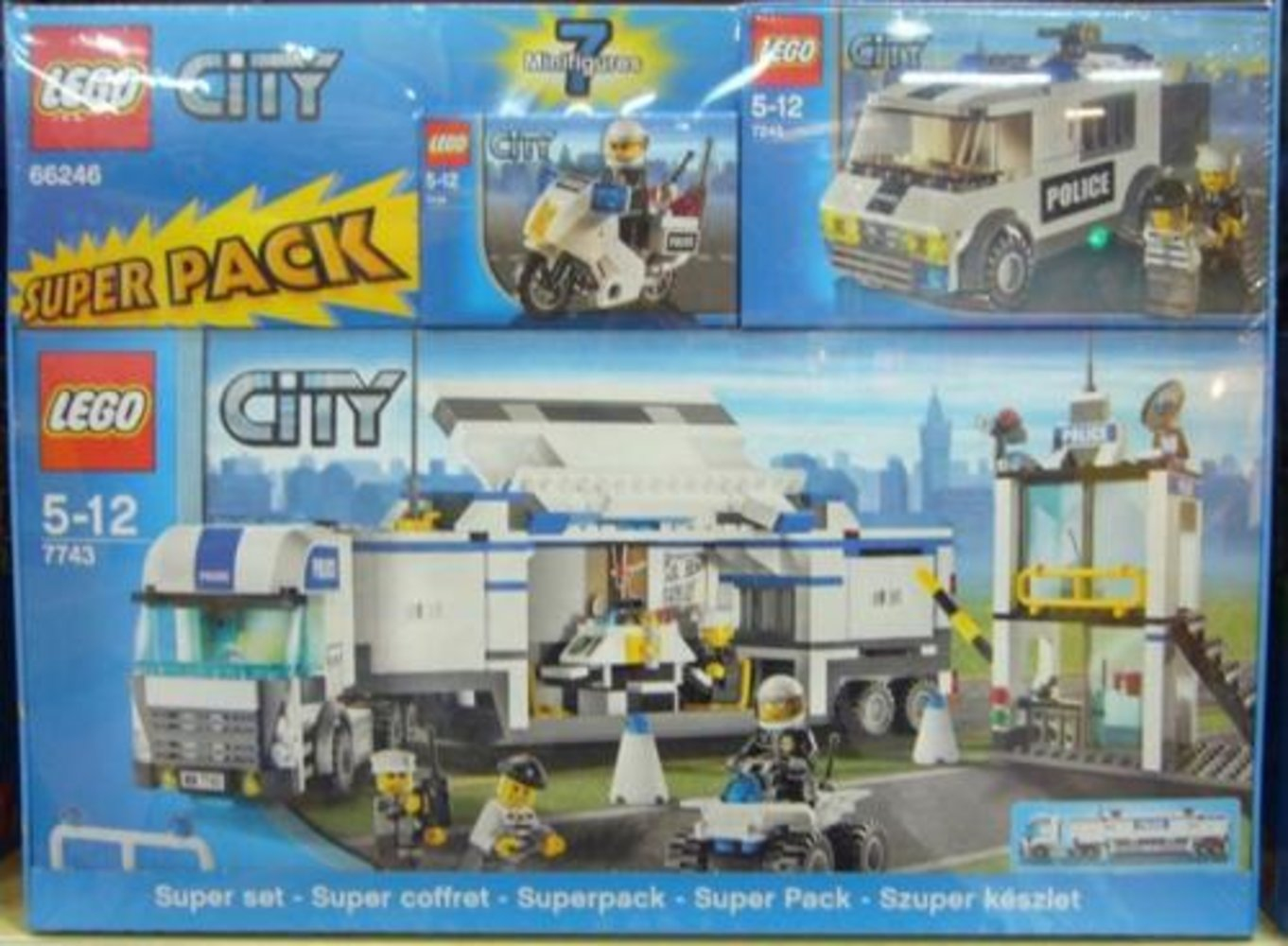City Super Pack (7235 7245 7743)