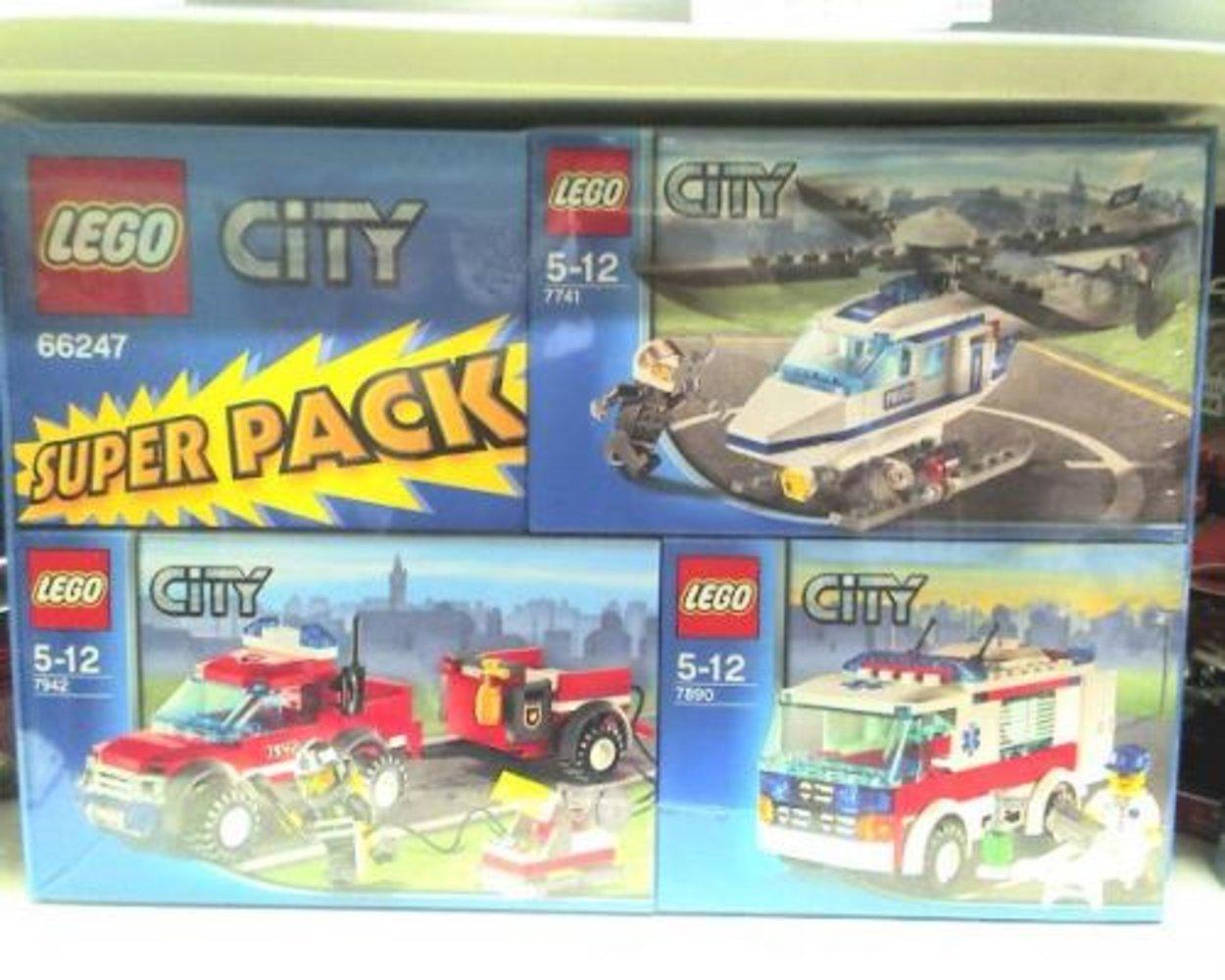 City Super Pack (7741 7890 7942)
