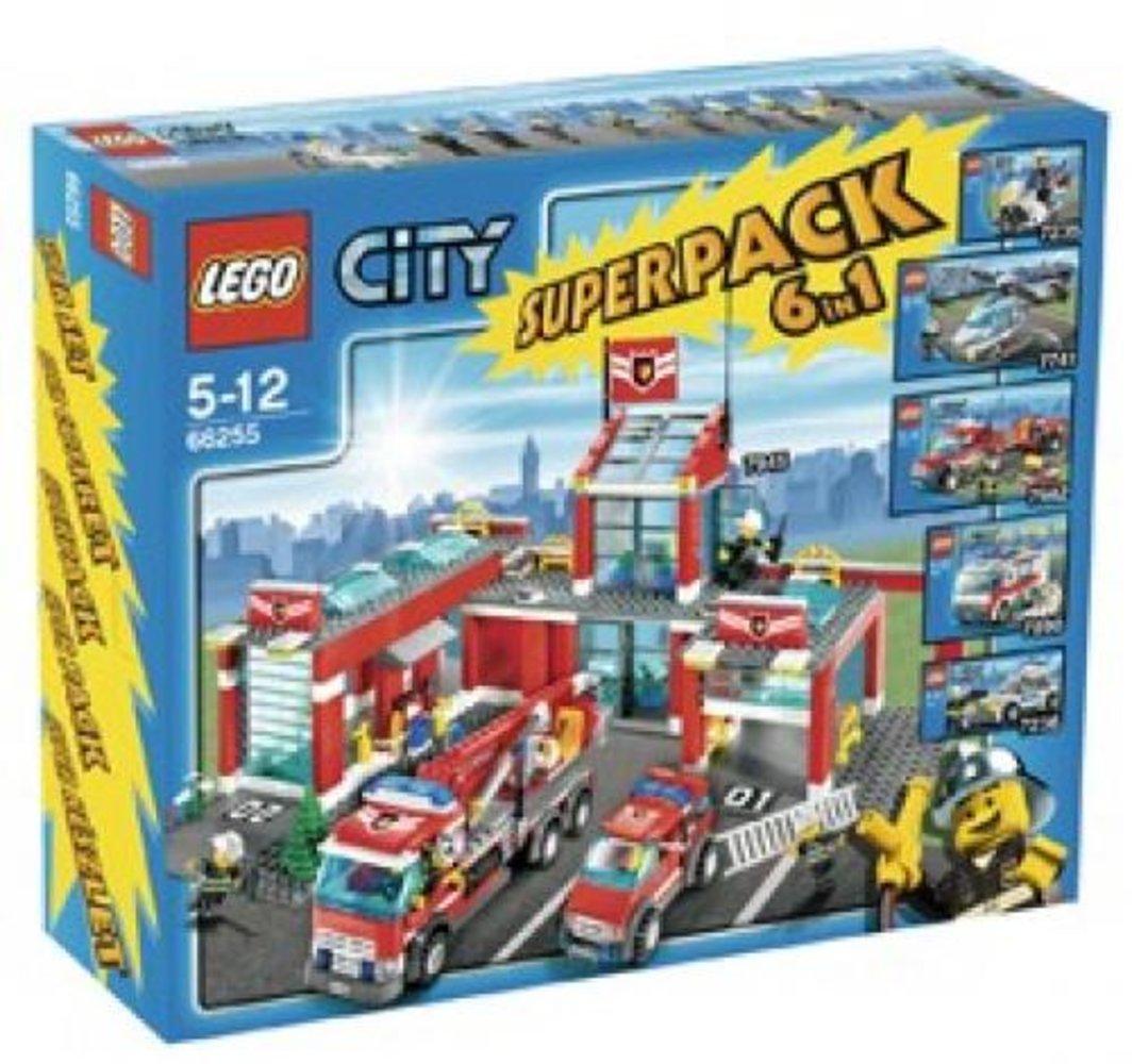 City Super Pack 6 in 1 (7235 7236 7741 7890 7942 7945)