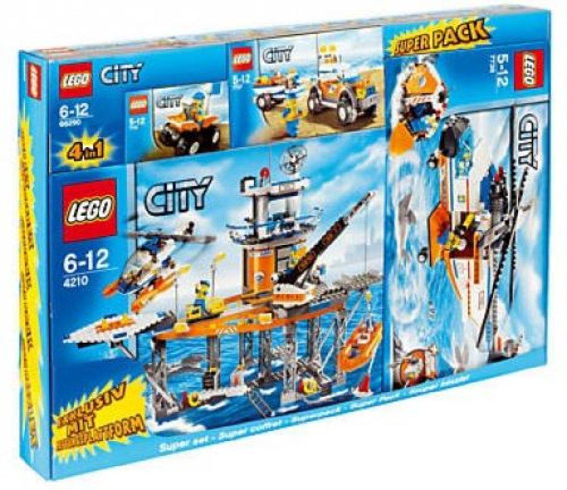 City Super Pack 4 in 1 (4210 7736 7737 7738)