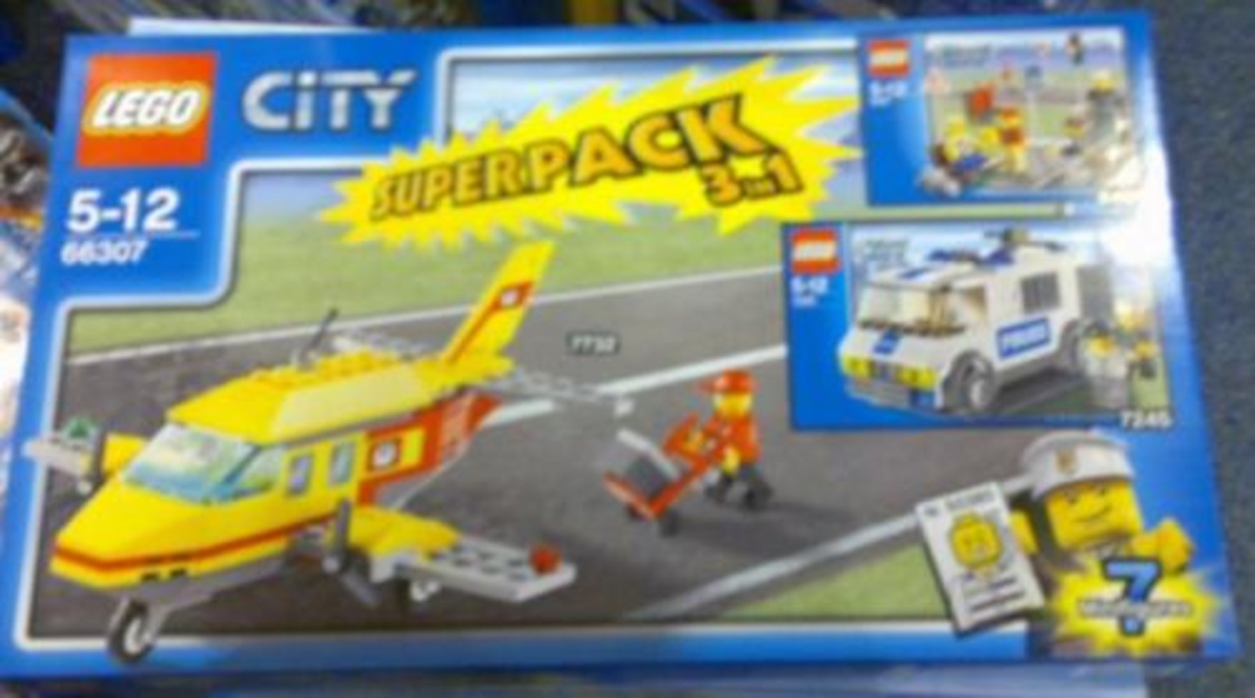 City Superpack 3 in 1