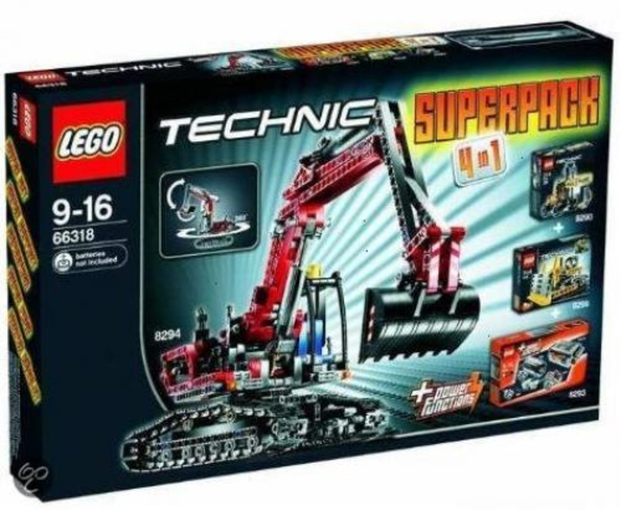 Technic Super Pack 4 in 1 (8259 8290 8293 8294)