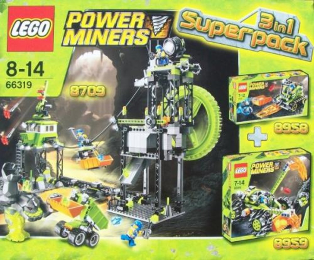 Power Miners 3 in 1 Superpack