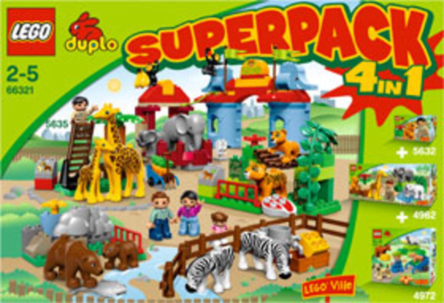 Zoo Super Pack 4 in 1
