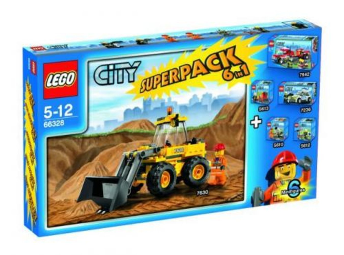 City Super Pack 6 in 1