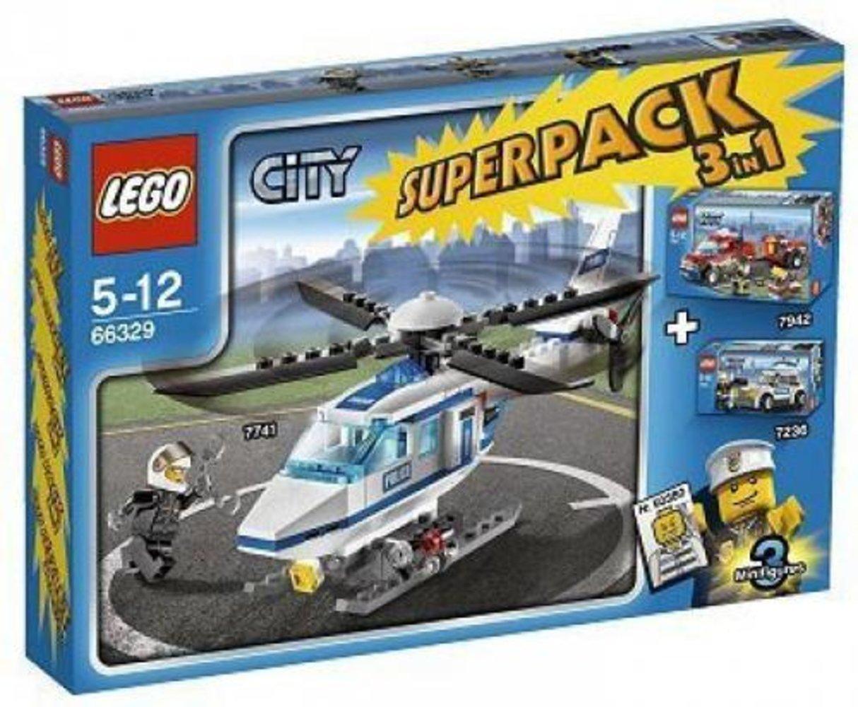 City Super Pack 3 in 1 (7236 7741 7942)