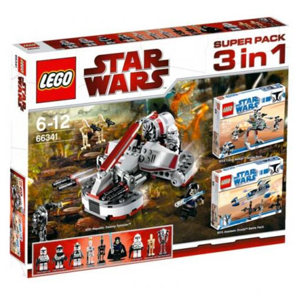 Star Wars Super Pack 3 in 1 (8014 8015 8091)