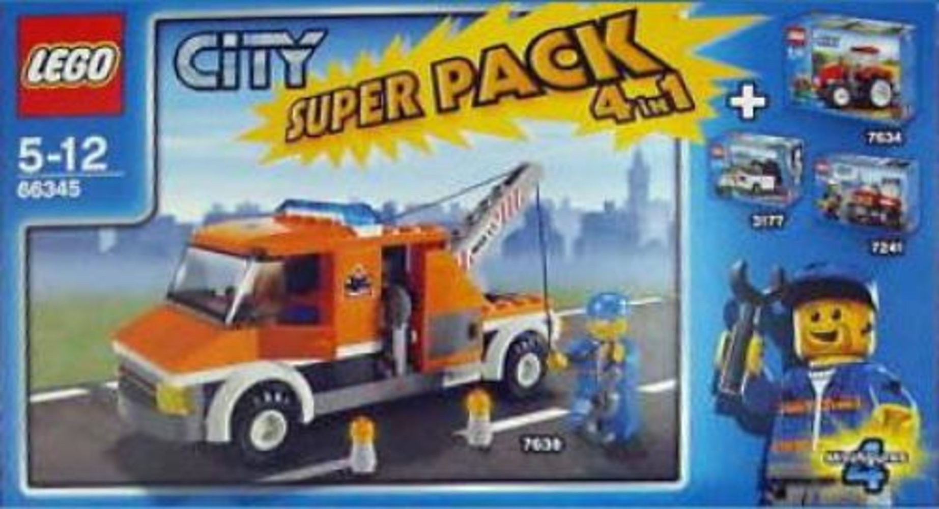 City Super Pack 4 in 1 (3177 7241 7634 7638)
