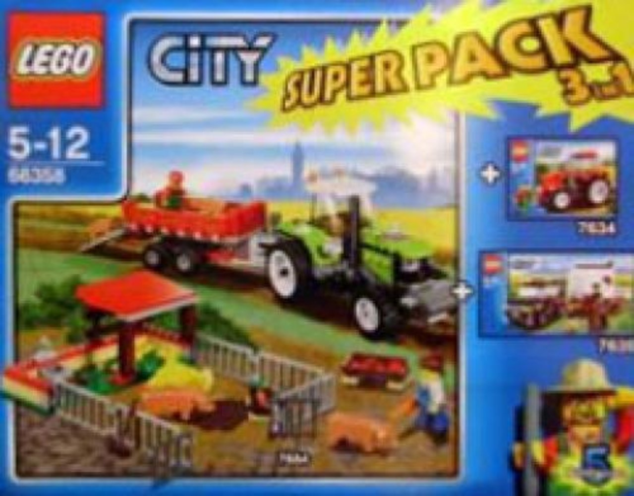 City Super Pack 3 in 1