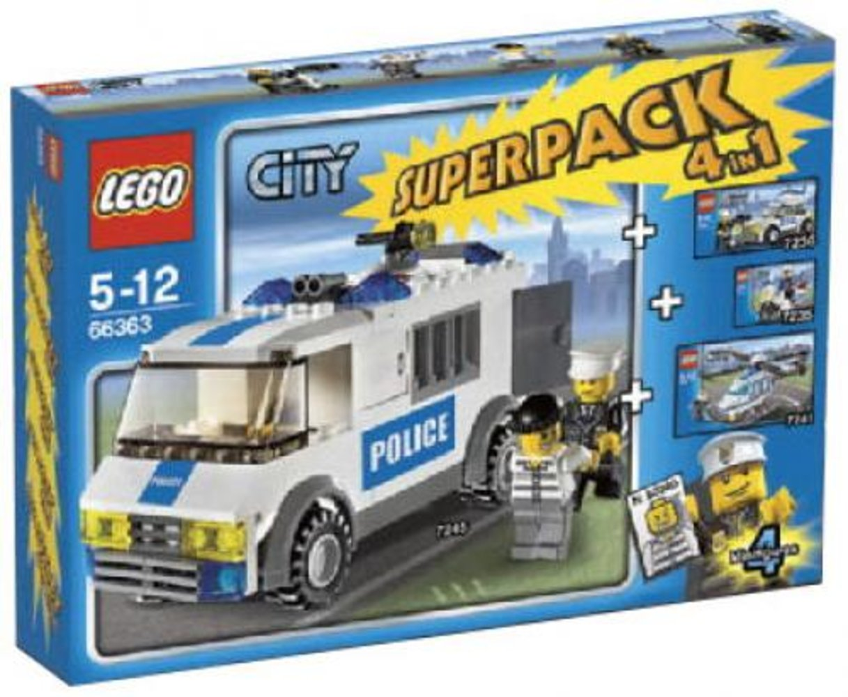 City Super Pack 4 in 1 (7235 7236 7245 7741)