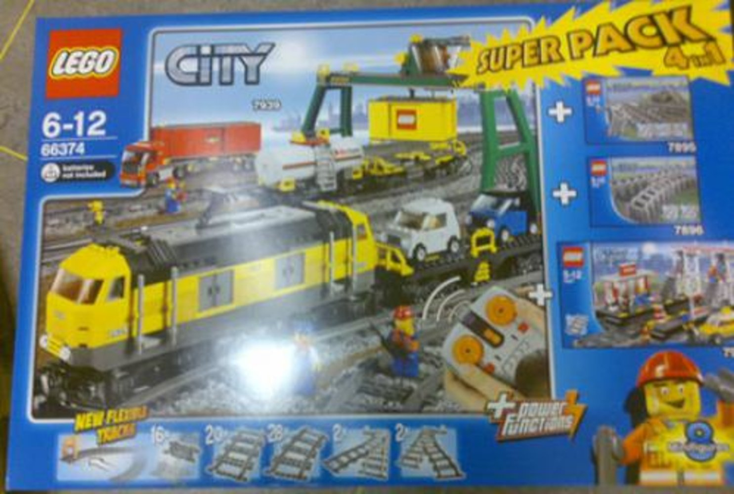City Super Pack 4 in 1 (7895 7896 7937 7939)