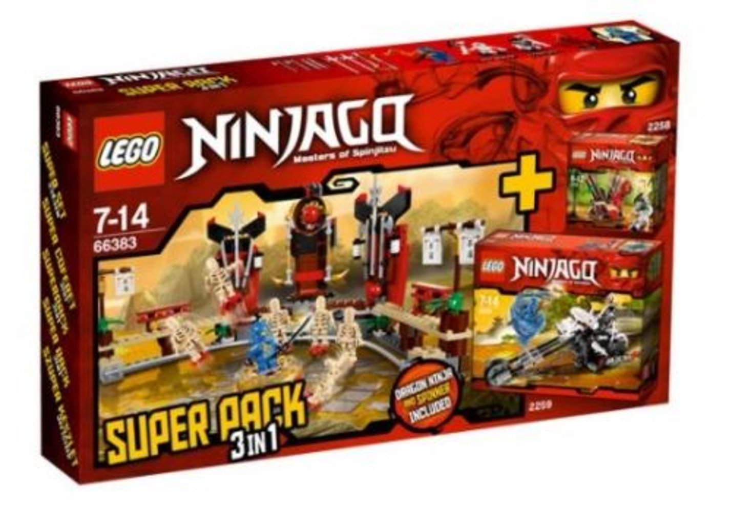 Ninjago Super Pack 3 in 1