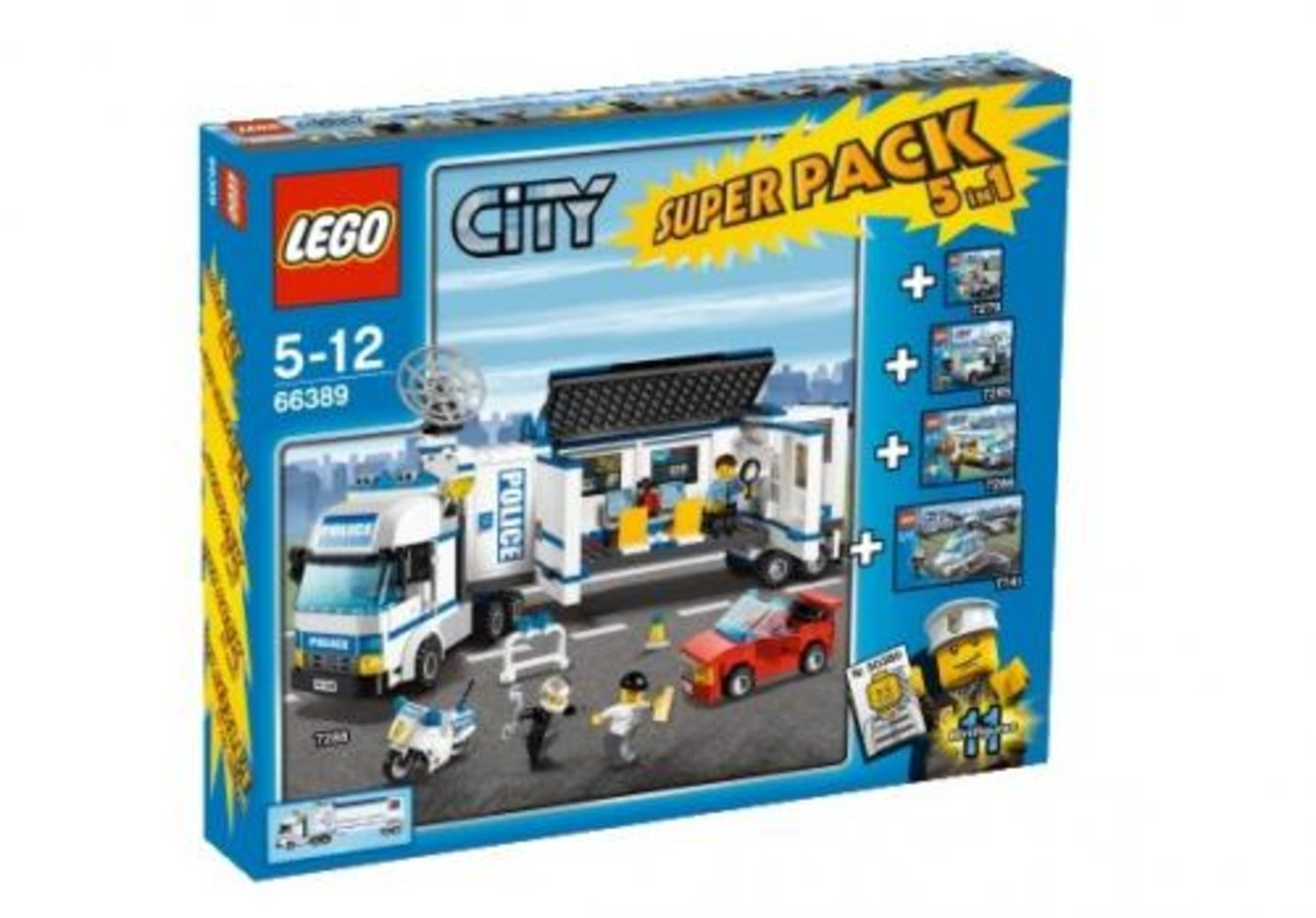 City Super Pack 5 in 1