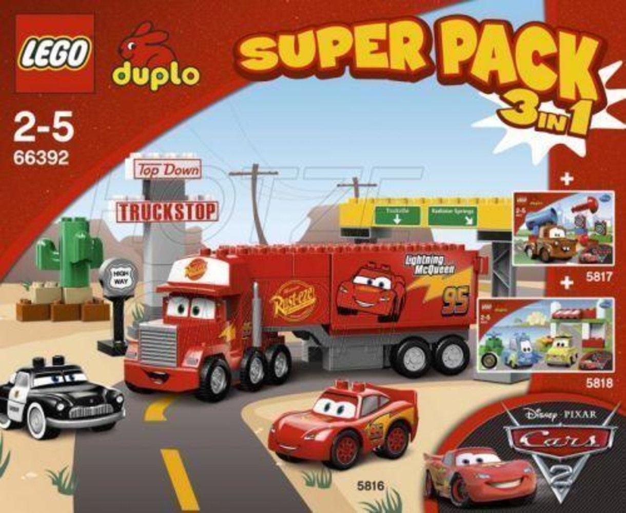 Duplo Cars Super Pack 3 in 1
