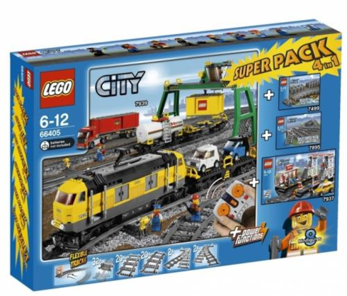 City Super Pack 4 in 1 (7939 7937 7499 7895)