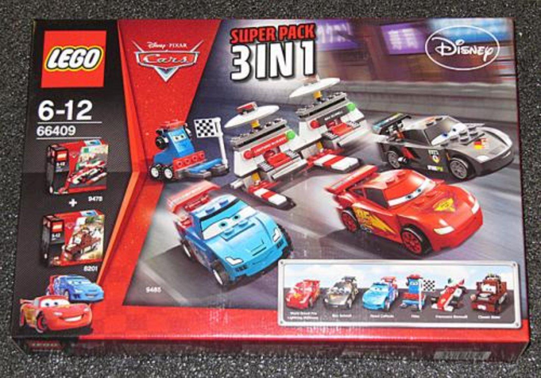Cars Super Pack 3 in 1