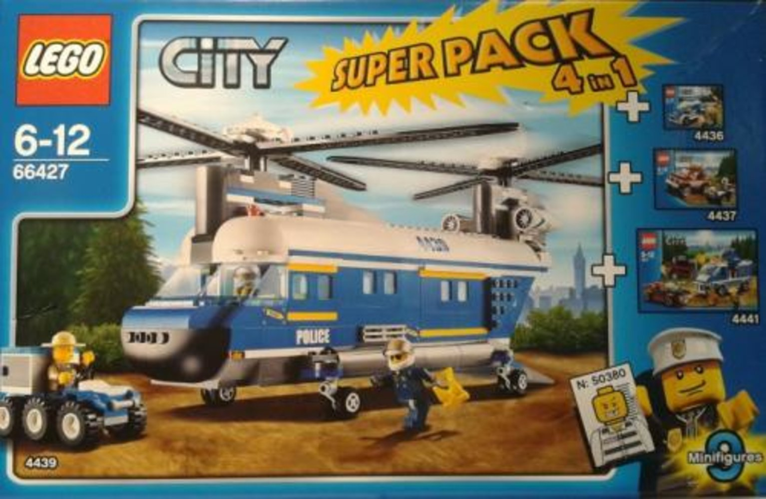 City Super Pack 4 in 1 (4436, 4437, 4439, 4441)