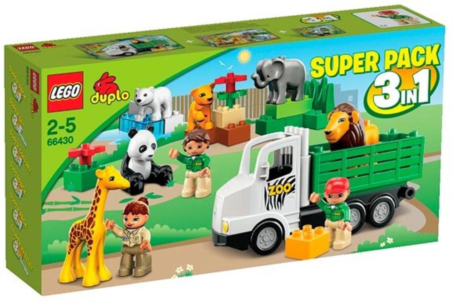 Zoo Super Pack 3 in 1