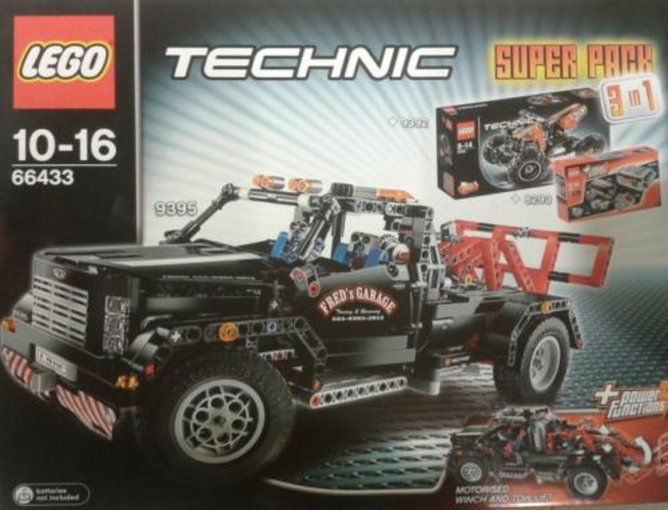 Technic Super Pack 3 in 1 (8293, 9392, 9395)