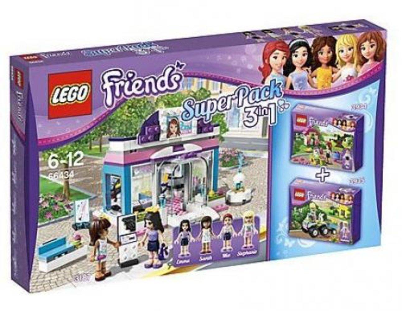 Friends Super Pack 3 in 1 (3187, 3934, 3935)
