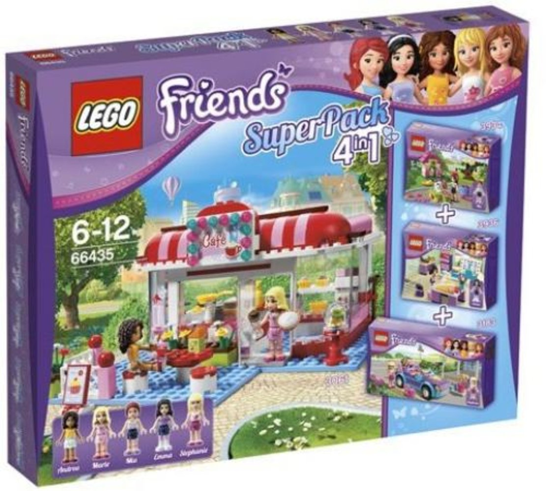 Friends Super Pack 4 in 1 (3061, 3183, 3934, 3936)